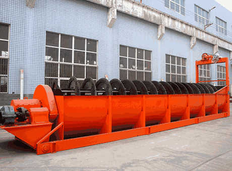 Copper Ore Production Line Spiral Washer